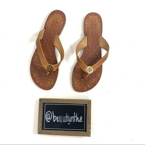 Tory Burch Thora thong flip flop leather sandal